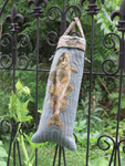 Felted Cod Water Bottle Bag